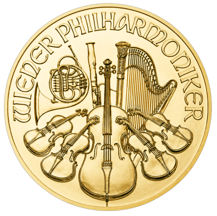Wiener Philharmoniker 1/2 Ounce Gold