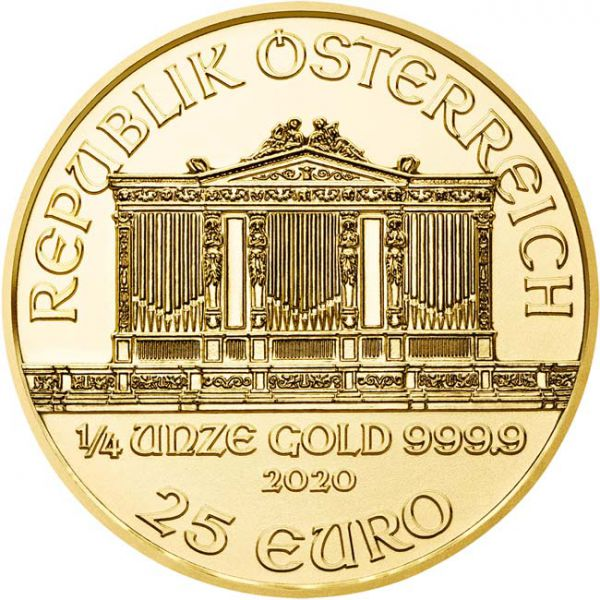 Wiener Philharmoniker 1/4 Ounce Gold